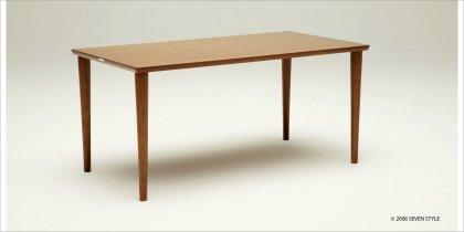 【送料無料】カリモク60+ ダイニングテーブル1500(ウォールナット色)