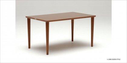 【送料無料】カリモク60+ ダイニングテーブル1300(ウォールナット色)