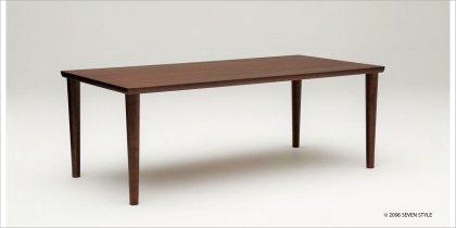 【送料無料】カリモク60+ ダイニングテーブル1800(モカブラウン色)