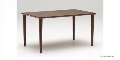 【送料無料】カリモク60+ ダイニングテーブル1300(モカブラウン色)