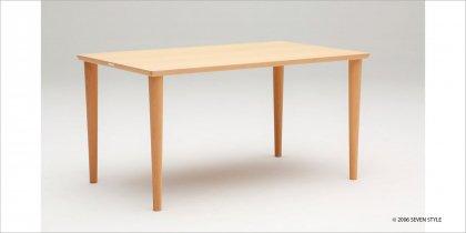 【送料無料】カリモク60+ ダイニングテーブル1500(ピュアビーチ色)