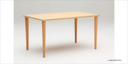 【送料無料】カリモク60+ ダイニングテーブル1300(ピュアビーチ色)