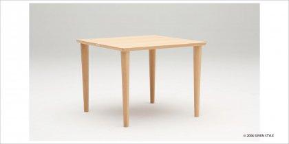 【送料無料】カリモク60+ ダイニングテーブル800(ピュアビーチ色)