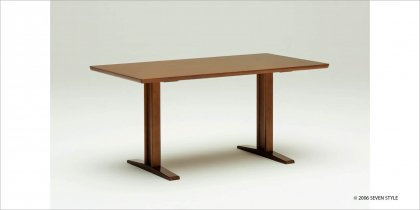 【送料無料】カリモク60+ ダイニングテーブルT 1500(ウォールナット色)