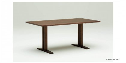 【送料無料】カリモク60+ ダイニングテーブルT 1500(モカブラウン色)