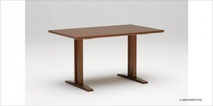 【送料無料】カリモク60+ ダイニングテーブルT 1300(ウォールナット色)