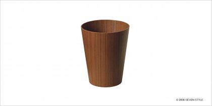 【在庫有り】サイトーウッド Paper Basket 901 (teak grain)