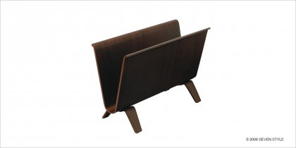サイトーウッド Magazine Rack (walnut)