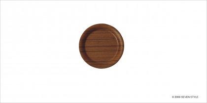 【廃番セール品】【在庫有り】サイトーウッド Coaster (teak grain)