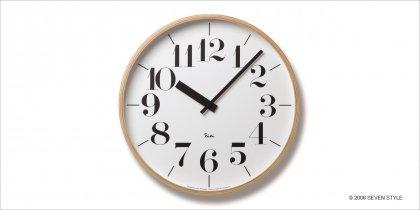 【在庫有り】Lemnos RIKI CLOCK WR-0401L