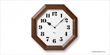 Lemnos 八角の時計