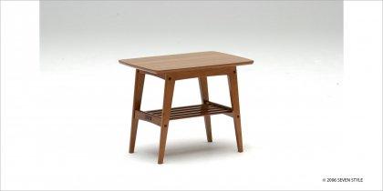 【送料無料】カリモク60 サイドテーブル(小)ウォールナット色