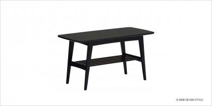 【送料無料】カリモク60 リビングテーブル(小)マットブラック色