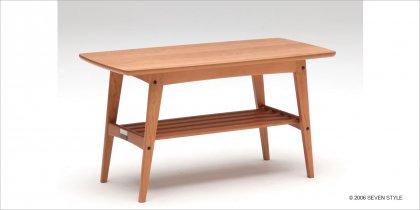 【店頭限定】【送料無料】カリモク60+カリモク リビングテーブル(小)チェリー