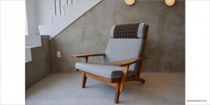 【リペア前】GETAMA / GE375 Easy Chair