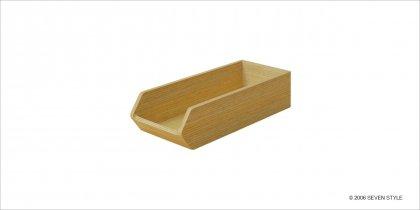 【廃番セール品】【在庫有り】サイトーウッド Cutlery Case (white oak grain)