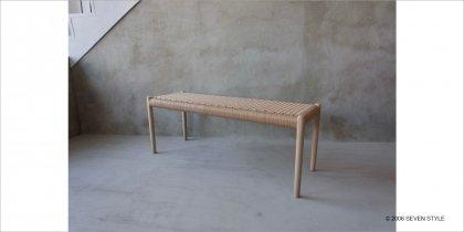 【在庫有】J.L. モラー No. 63A Bench(オーク材 / ソープ仕上げ)