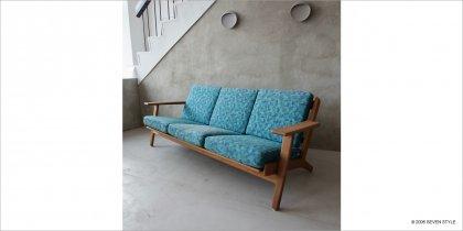 【リペア前】GETAMA / GE290 3-seater Sofa