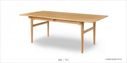 CH327 ダイニングテーブル(オーク材)