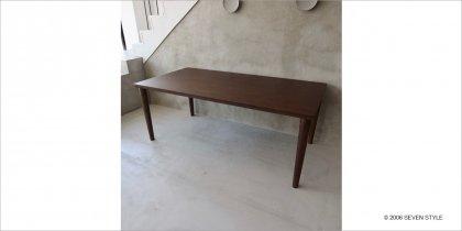 【展示入替品 / 旧仕様】カリモク60 ダイニングテーブル1800(モカブラウン色)