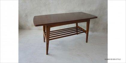 【展示入替品】カリモク60 リビングテーブル(小)ムテニエ突板