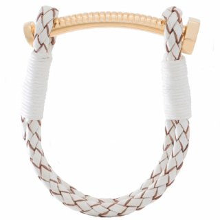 <img class='new_mark_img1' src='https://img.shop-pro.jp/img/new/icons55.gif' style='border:none;display:inline;margin:0px;padding:0px;width:auto;' />【LADIES'】 NUT&BOLT BRACELET (WHITE)