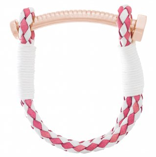 <img class='new_mark_img1' src='https://img.shop-pro.jp/img/new/icons55.gif' style='border:none;display:inline;margin:0px;padding:0px;width:auto;' />【LADIES'】NUT&BOLT BRACELET(PINK&WHITE)