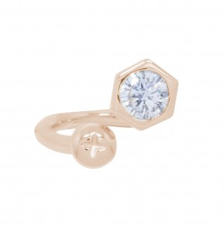 <img class='new_mark_img1' src='https://img.shop-pro.jp/img/new/icons55.gif' style='border:none;display:inline;margin:0px;padding:0px;width:auto;' />NUT&BOLT TWISTED RING(PINK GOLD)