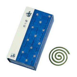 日本香堂のお香 香 梅小紋 渦巻