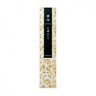 日本香堂のお香 香伝 白檀合わせ スティック