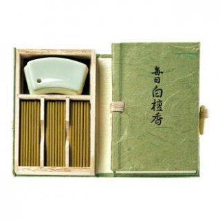 日本香堂のお香 毎日白檀香 スティック