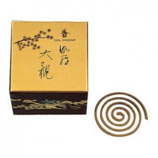 日本香堂のお香 伽羅大観 渦巻