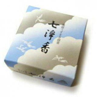カメヤマのお線香 【糸あり】七浄香 渦巻線香14巻入