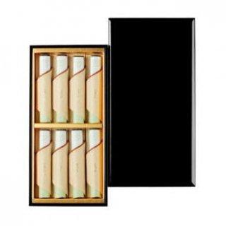 日本香堂のお線香ギフト 伽羅金剛 短寸8把入 塗箱
