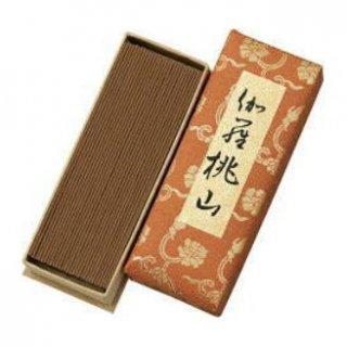 日本香堂のお線香 伽羅桃山 短寸バラ詰