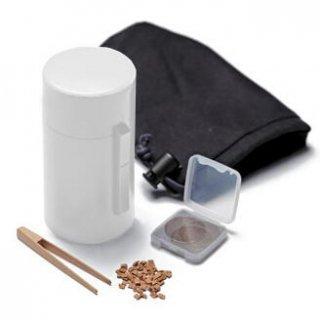 松栄堂の電池式香炉 ひとたき香炉 こづつ 白