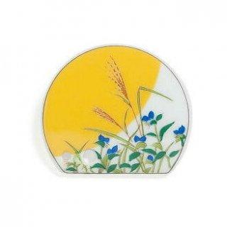 松栄堂の香立・香皿 四季の香立 月見月