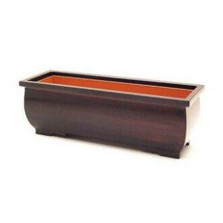 長香炉 黒丹色 6.0寸