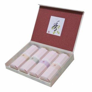薫寿堂のお線香ギフト 花かおり 香合わせギフト 4入 化粧紙箱