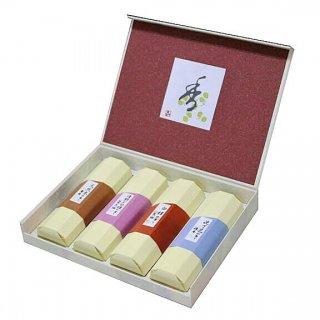 薫寿堂のお線香ギフト 花琳 香合わせギフト 4入 化粧紙箱