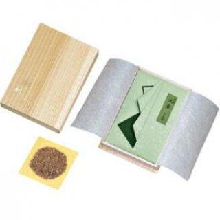 玉初堂の香木 特製 沈香 30g たとう紙包み 桐箱仕立
