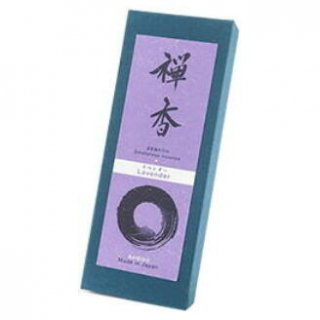 梅栄堂のお線香 禅香 ラベンダー 短寸バラ