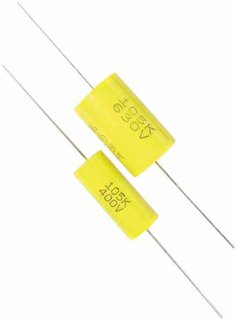 Capacitor - 400V, Metal Film<img class='new_mark_img2' src='https://img.shop-pro.jp/img/new/icons21.gif' style='border:none;display:inline;margin:0px;padding:0px;width:auto;' />