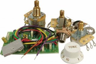 Upgrade Kit - For Fender, Mid Boost Preamp for Strats