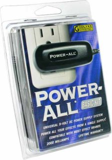 Kit - Power All System Basic, For Effects Pedals