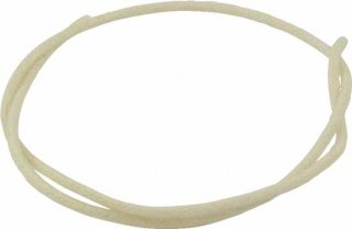 Wire - Push Back Cloth for Single Coil Pickup, White