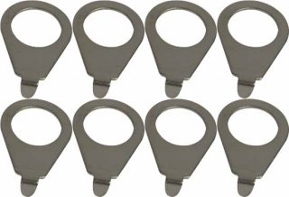 Knob pointer - Kluson, 90 degree blunt tip, Steel, package of 8<img class='new_mark_img2' src='https://img.shop-pro.jp/img/new/icons21.gif' style='border:none;display:inline;margin:0px;padding:0px;width:auto;' />