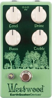 Effects Pedal – EarthQuaker Devices, Westwood, Translucent Drive Manipulator