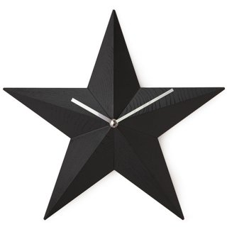掛け時計 スタークロック ブラック