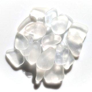 SS-140 ホワイト シーグラス・クラフト用素材(2〜2.5cm)